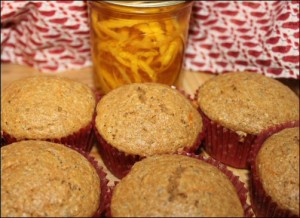 Homemade, healthy muffins