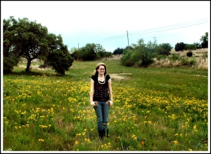 My gorgeous, smart, capable daughter at 16 years old on a trip to Texas.