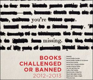 2012-2013 List of Books Banned
