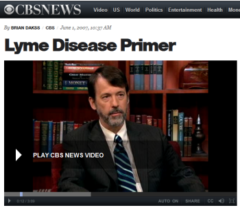 Dr. Brian Fallon,  director of the Lyme Disease Research Center at Columbia University Medical Center