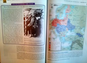 Students use spatial context to remember information in textbooks: the location of a fact at the top or bottom, left- or right-hand side of the page all help cue memories.