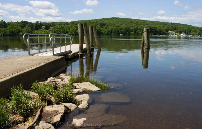 Connecticut River boat launch dock, one of many that are handicapped accessible