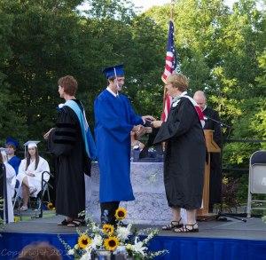 Philip graduating