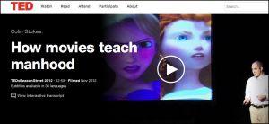"""Colin Stokes: """"How Movies Teach Manhood"""" TED Talk"""