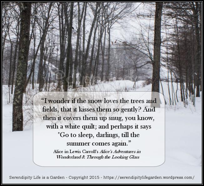 winter snow Lewis Carroll